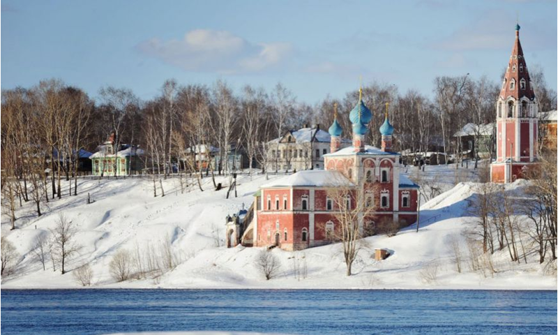 Первая пешая ледовая переправа открыта в Ярославской области