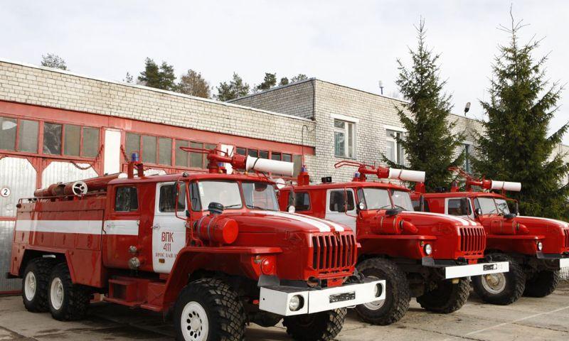 В Ростове состоялся смотр пожарной техники