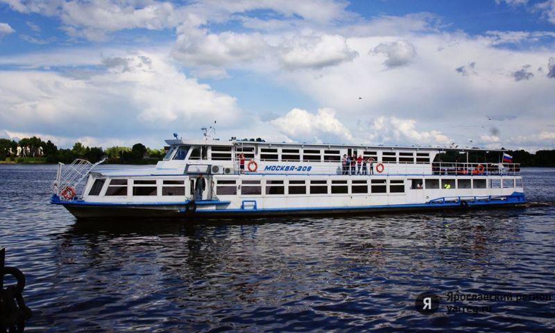 Стала известна дата открытия круизного сезона в Ярославской области