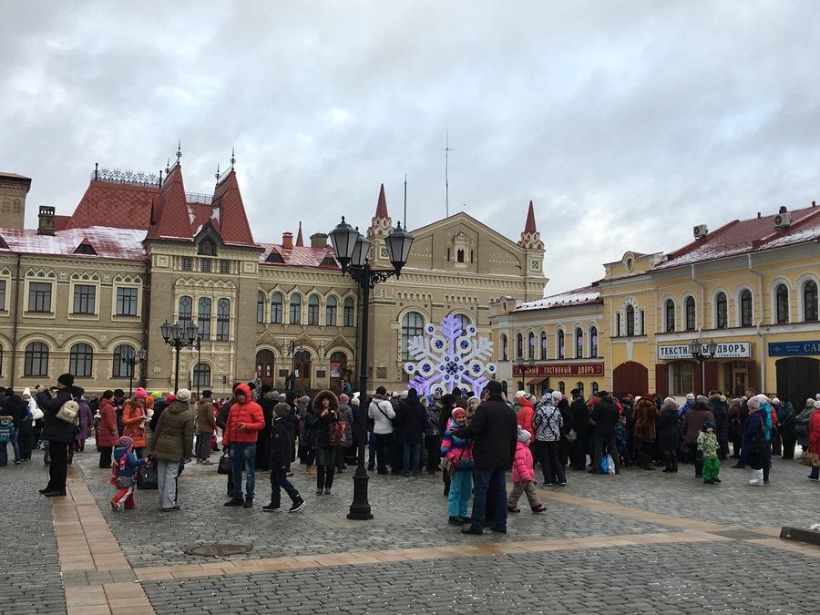 Рыбинск в новогодние праздники посетили более 40 тысяч туристов