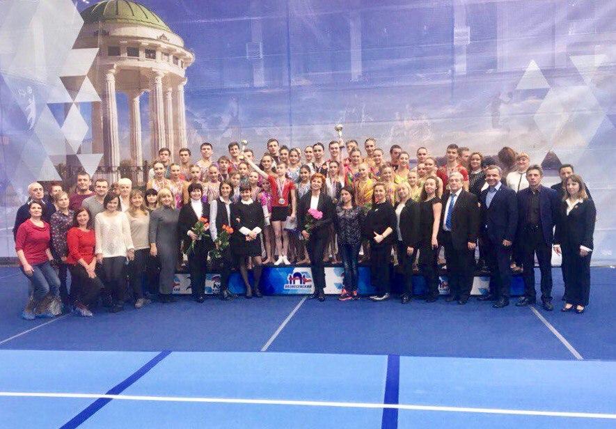 Ярославцы заняли первое место на чемпионате ЦФО по спортивной акробатике