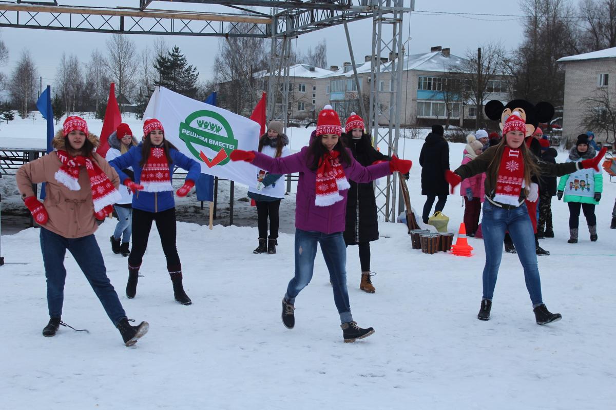В Ярославской области отметили старый Новый год в парке, обновленном по программе «Решаем вместе!»