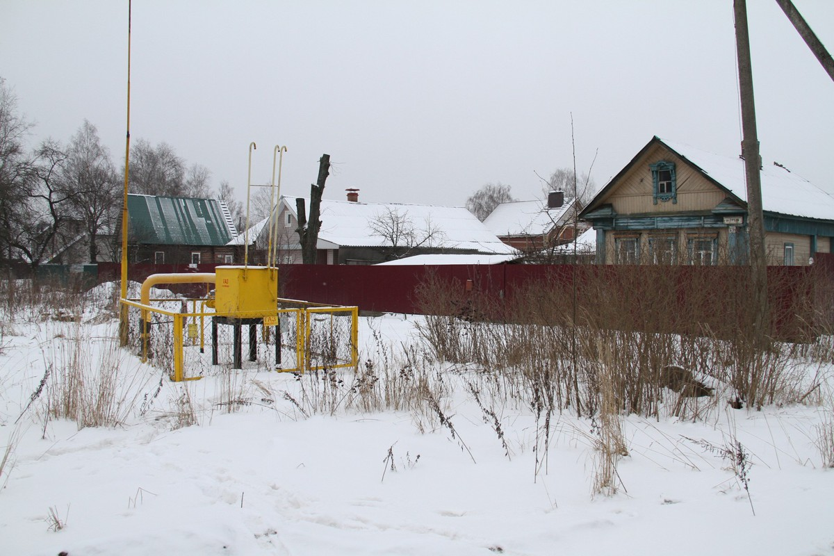 Газ провели в частный сектор одного из районов Рыбинска