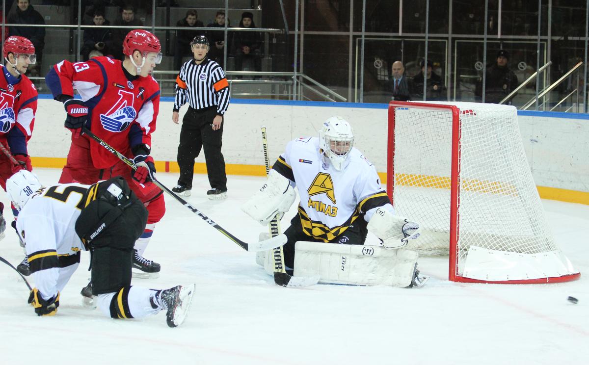 «Локо» дважды выиграл у «Алмаза» в Ярославле