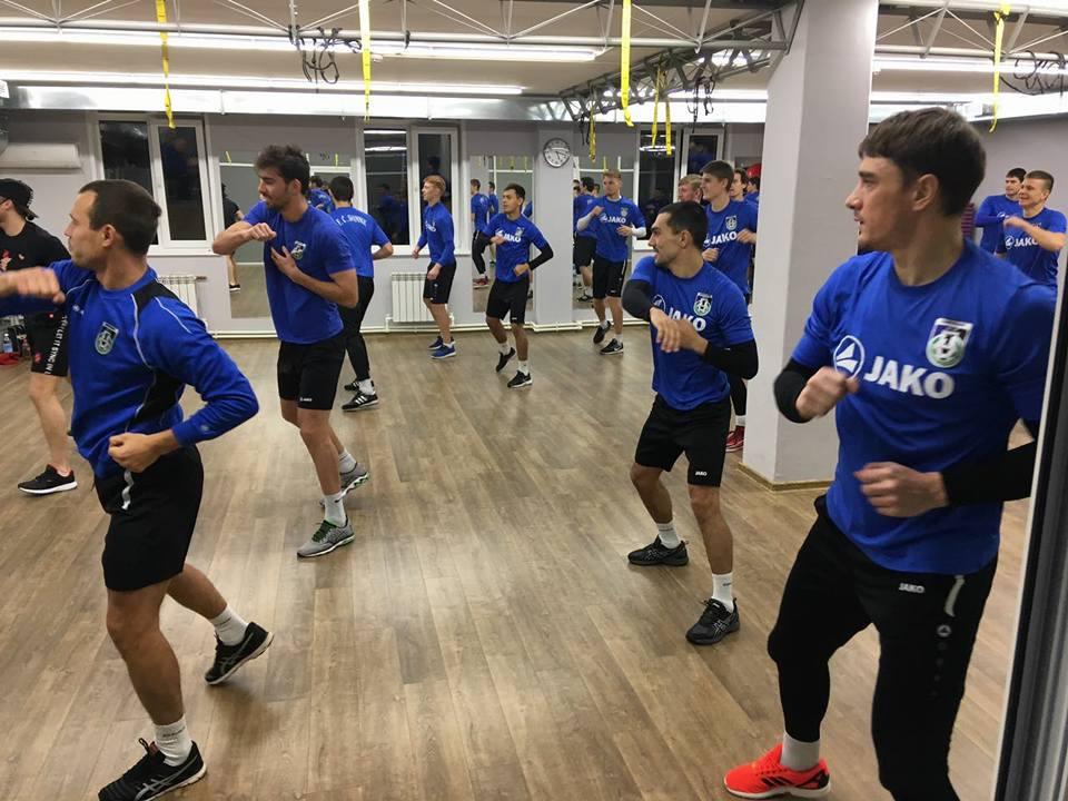 Футболисты «Шинника» завершили сбор в Ярославле