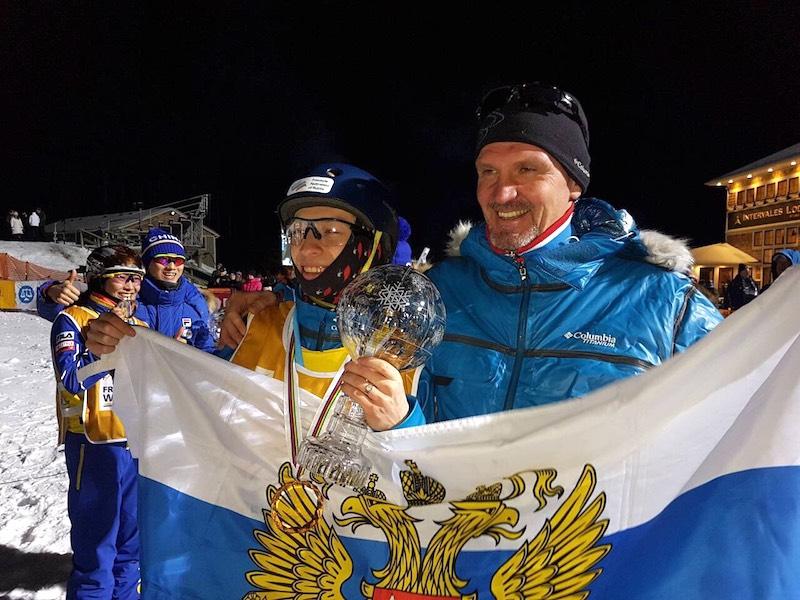 Ярославец стал обладателем Кубка мира по лыжной акробатике