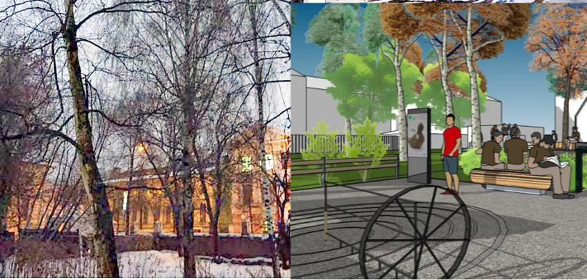 Заброшенный парк ЯрГУ могут превратить в райский сад