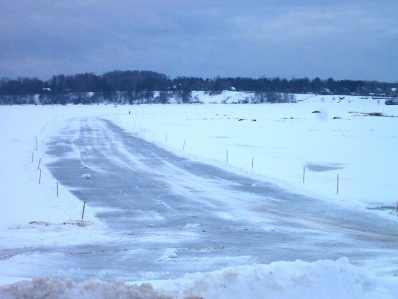 Открытие переправы через Волгу в Рыбинском районе откладывается
