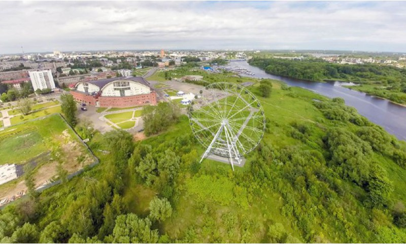 Объявлена дата открытия 65-метрового колеса обозрения в Ярославле