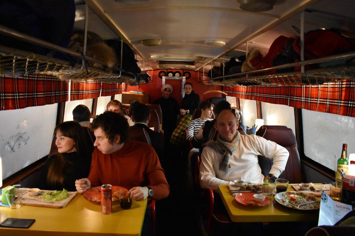 По улицам Ярославля ездит ресторан на колесах: фото
