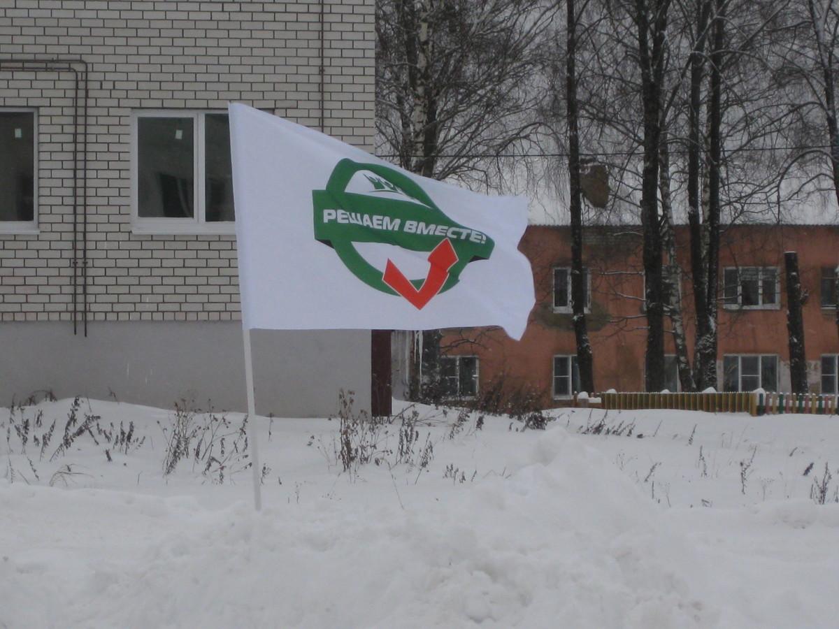 В обновленном по проекту «Решаем вместе!» дворе села Варегово прошел спортивный праздник