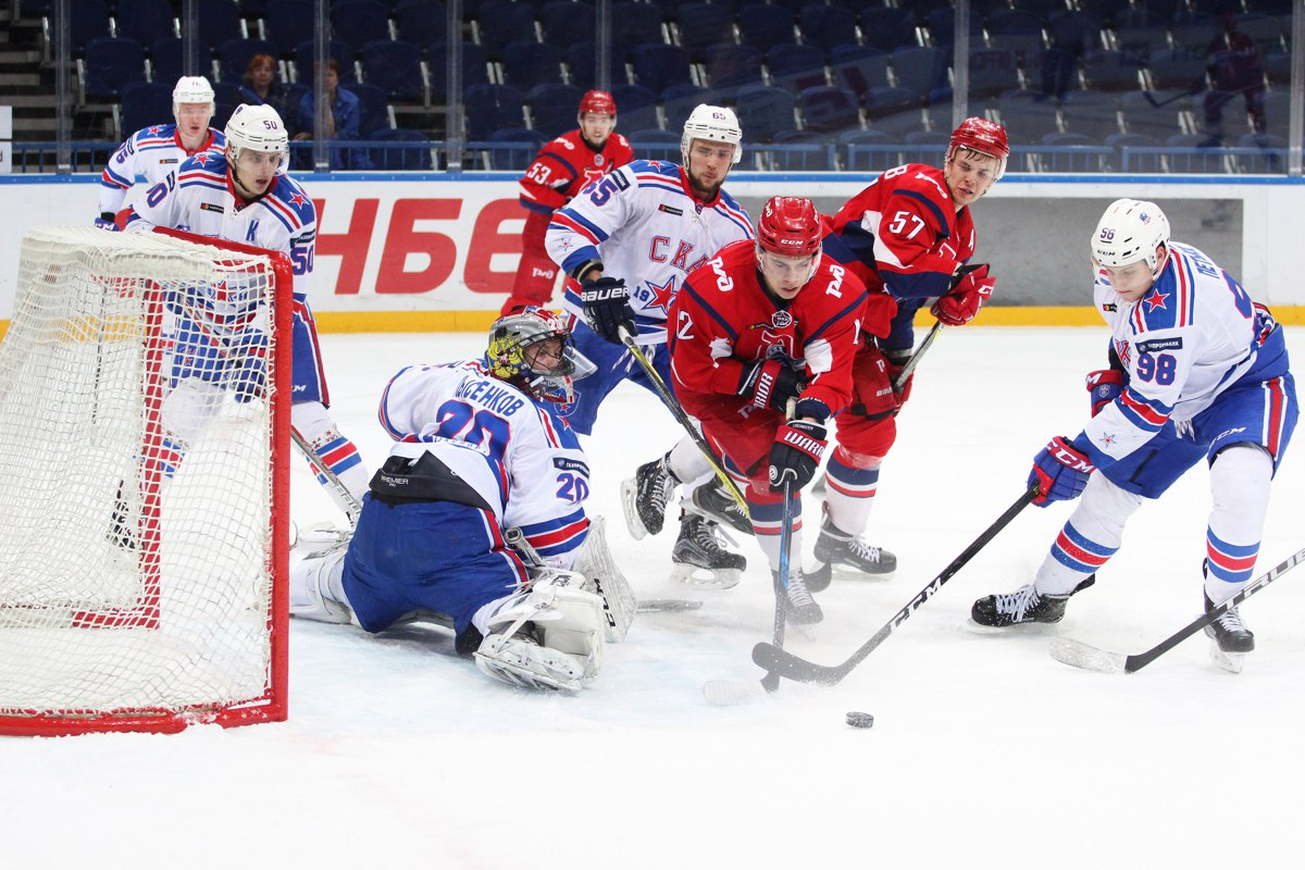 «Локо» отыгрался дважды за матч и обыграл «молодежку» СКА: видео