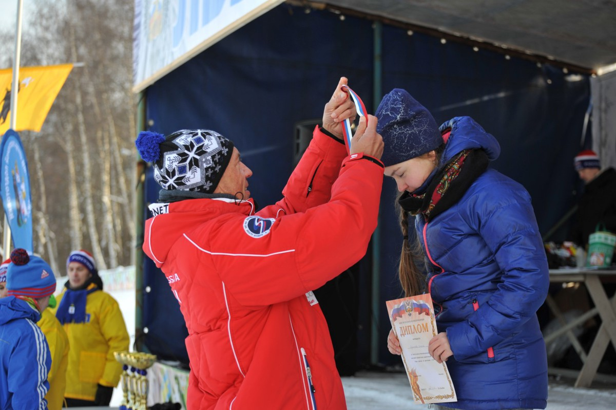 Больше тысячи человек поучаствовали в «Лыжне России» под Ярославлем