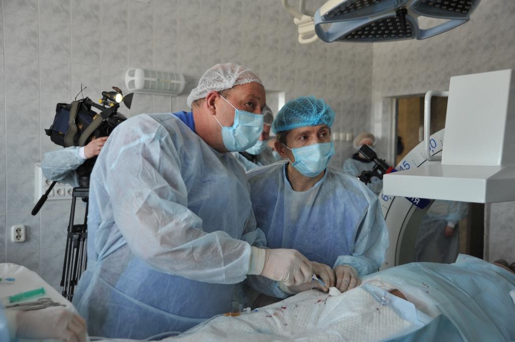 В регионе проведена первая операция по радикальному излечению сердечных аритмий