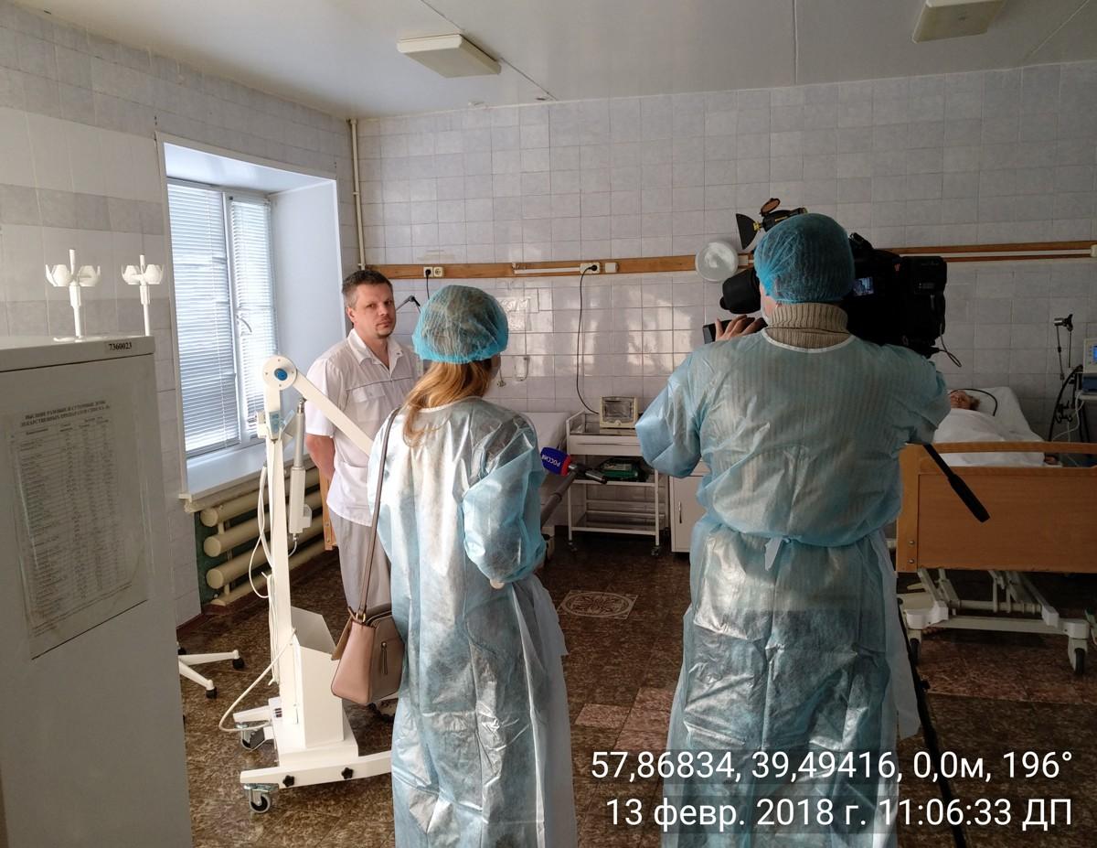 Завершен ремонт эндоскопического отделения Тутаевской районной больницы