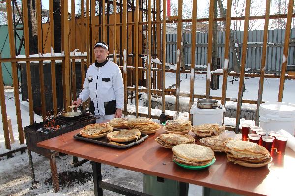 В Ярославской области заключенные провели масленичные соревнования