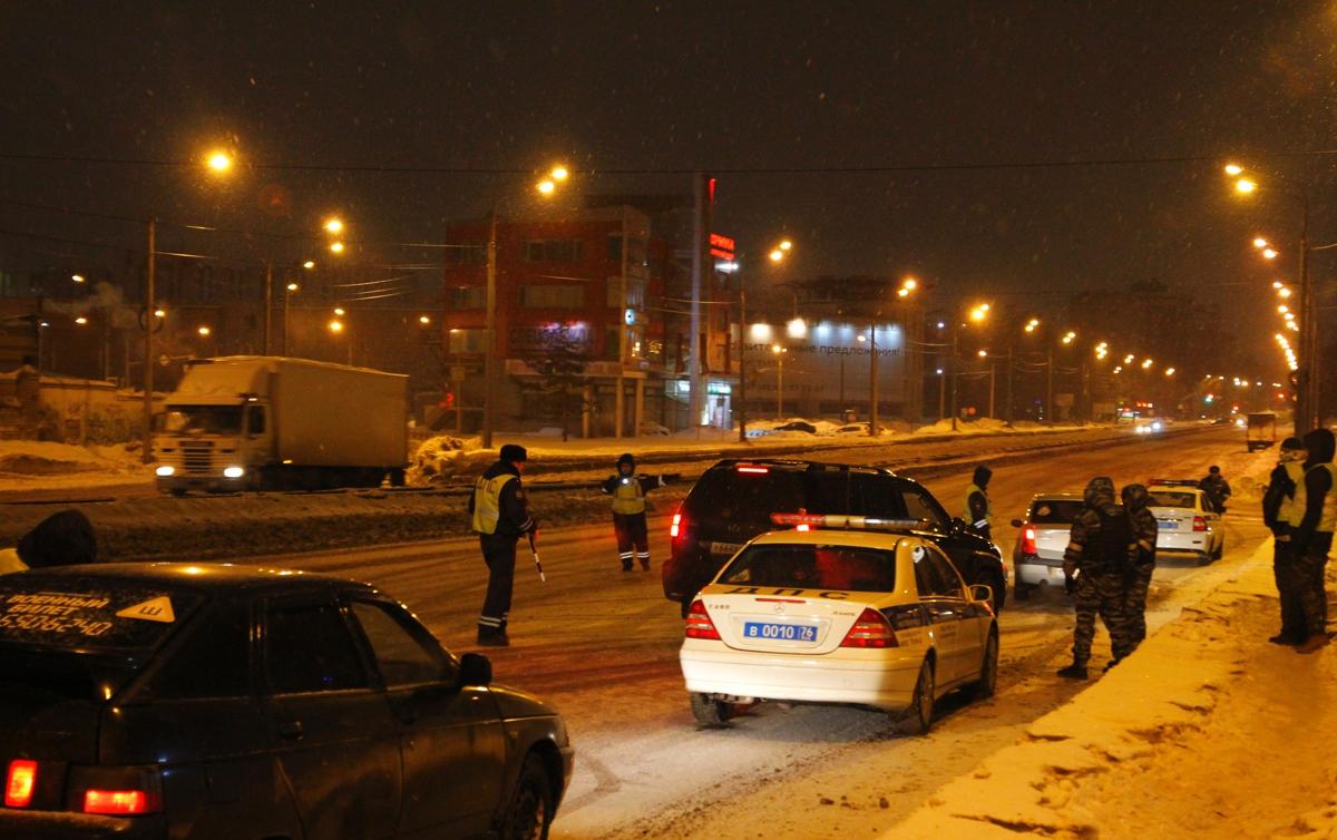 В выходные на дорогах Ярославской области поймали 39 пьяных водителей