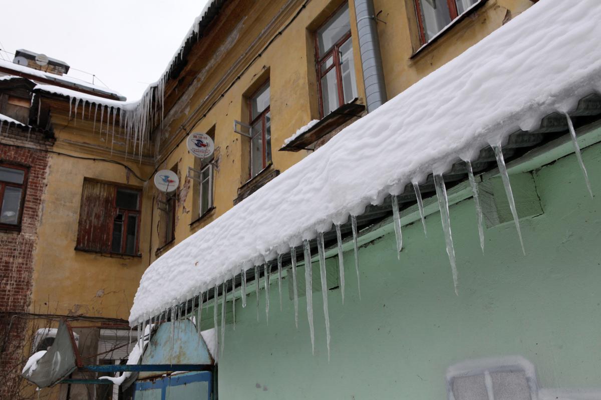 Ударим по сосулькам предписанием. В Ярославле выявили 80 опасных крыш