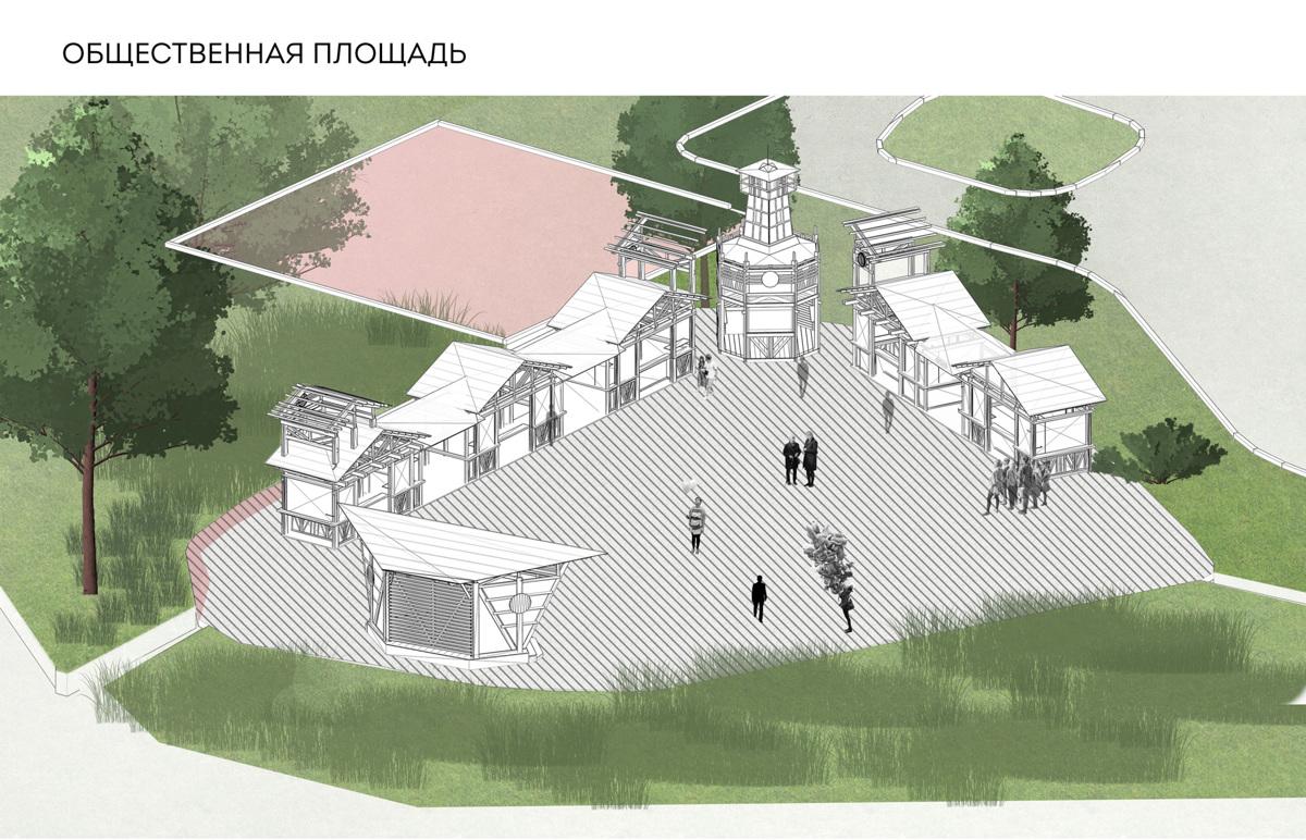Тутаевцы обсудили эскизы благоустройства парка на улице Соборной по проекту «Решаем вместе!»