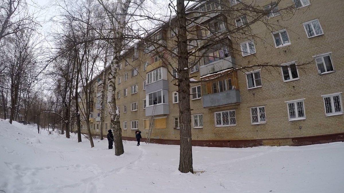 В Ярославле спасли женщину, заблокированную на балконе в 25-градусный мороз