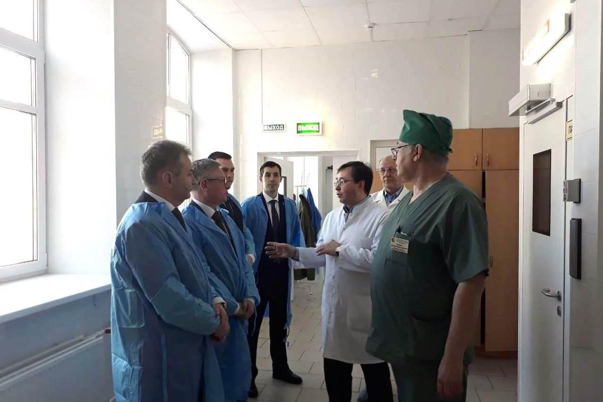 Пульмонологическое отделение ДКБ №1 Ярославля принимает пациентов в здании больницы имени Семашко