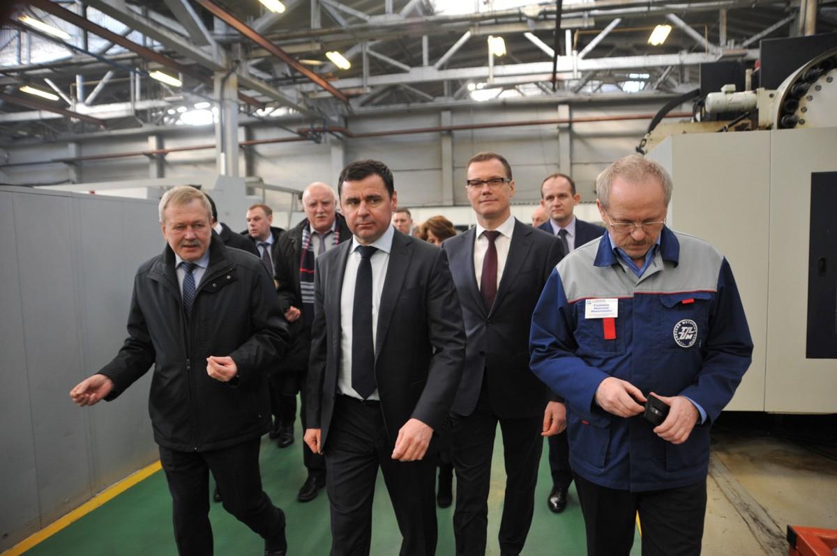 Дмитрий Миронов встретился с коллективом Тутаевского моторного завода