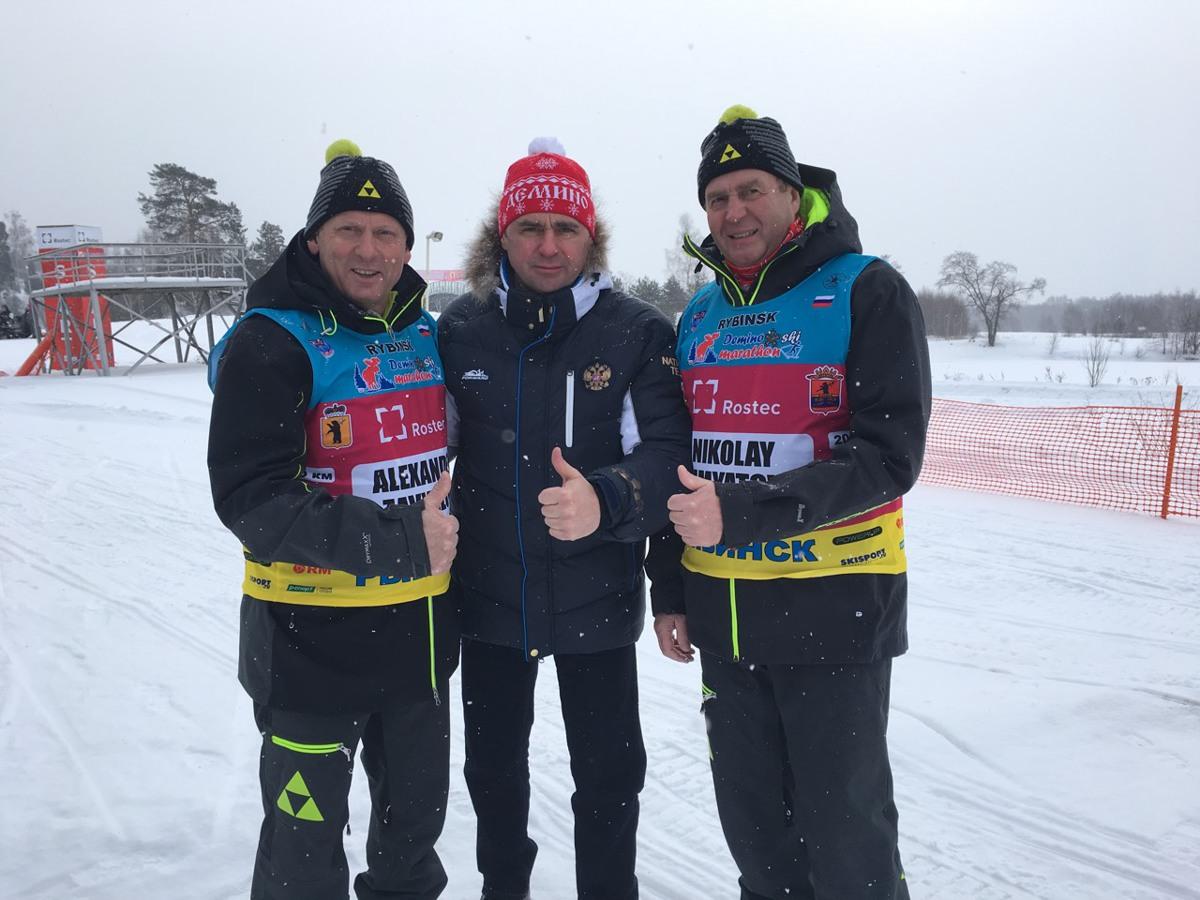 Глава региона Дмитрий Миронов открыл XI Деминский лыжный марафон