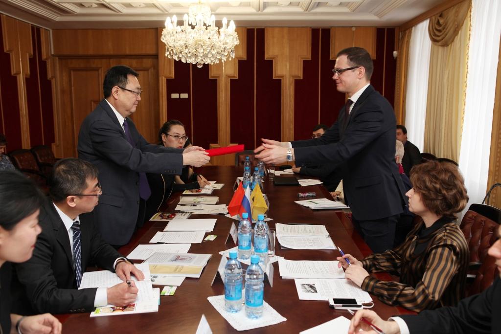 Ярославскую область посетила делегация из Китая