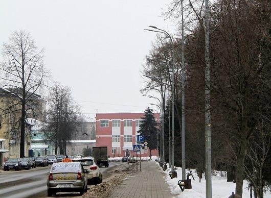 В Рыбинске меняют уличное освещение
