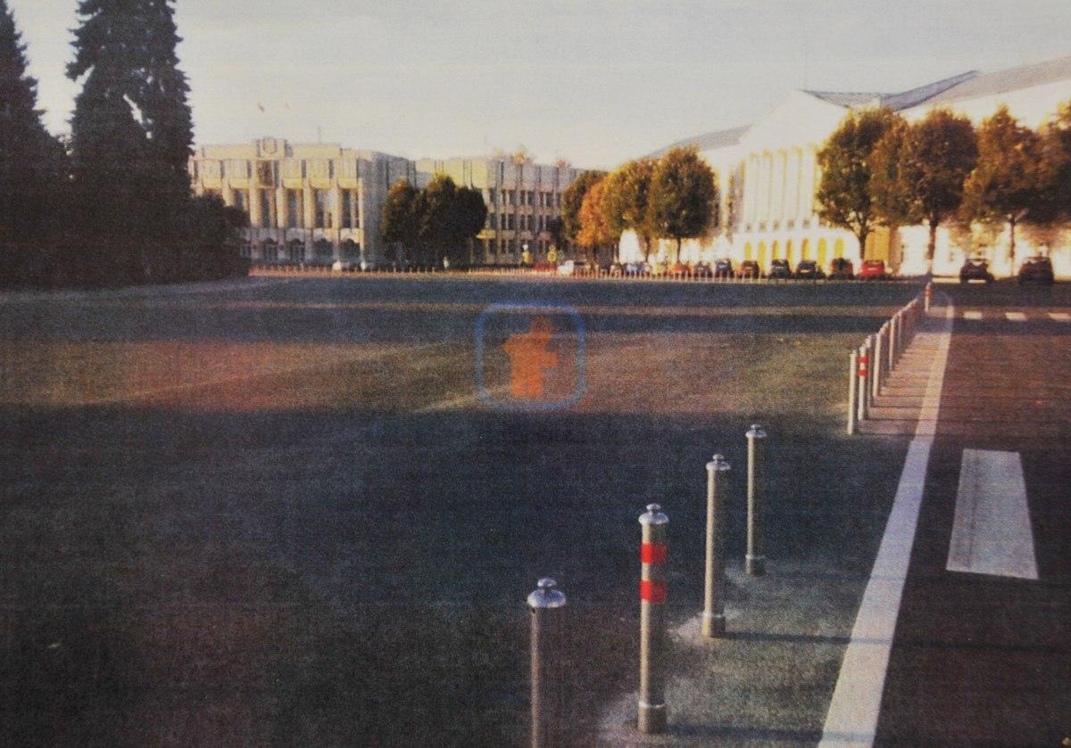 Дмитрий Миронов: по периметру Советской площади могут установить сигнальные столбики