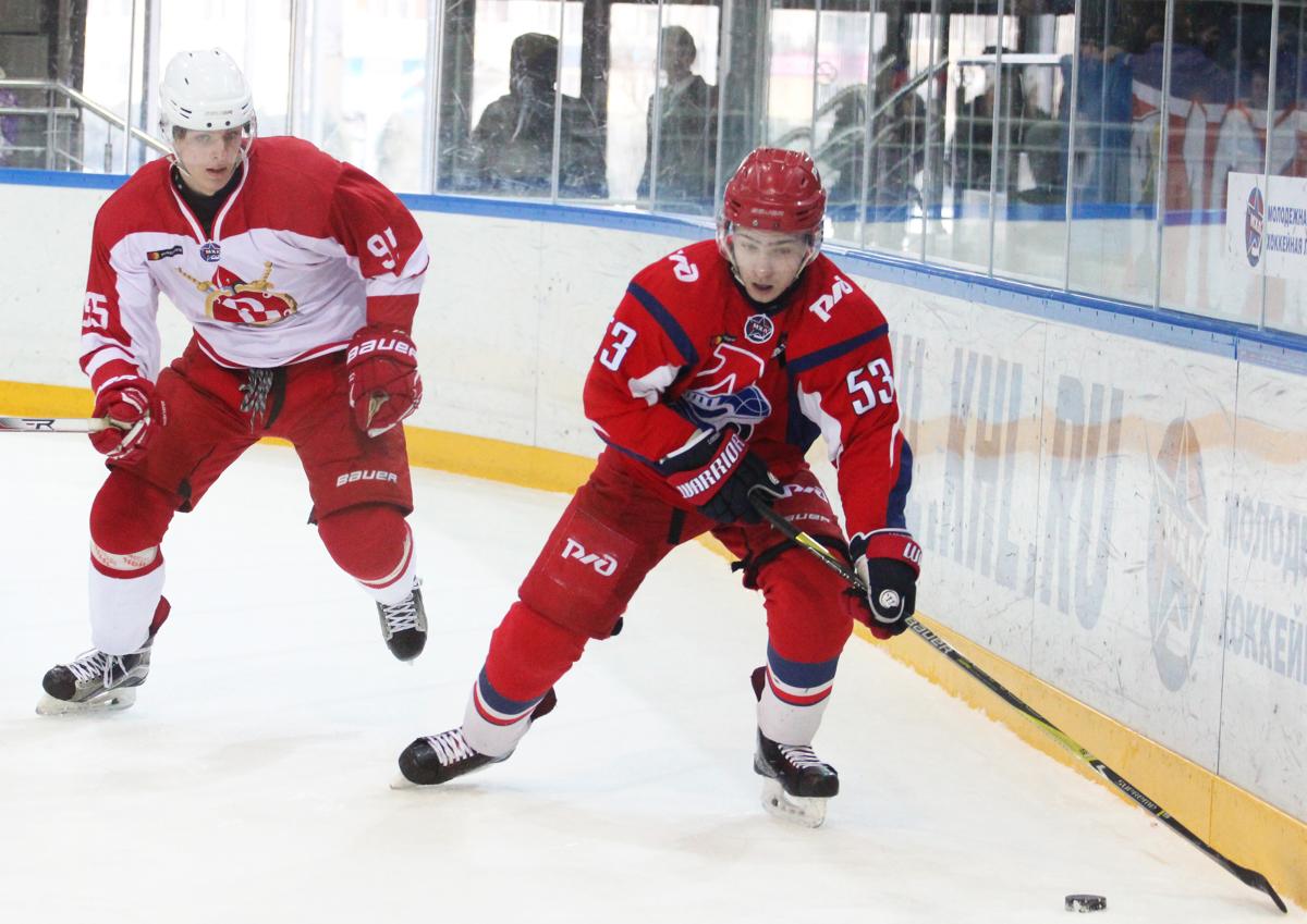 «Локо» уступил «Русским витязям» в третьем матче серии 1/8 финала