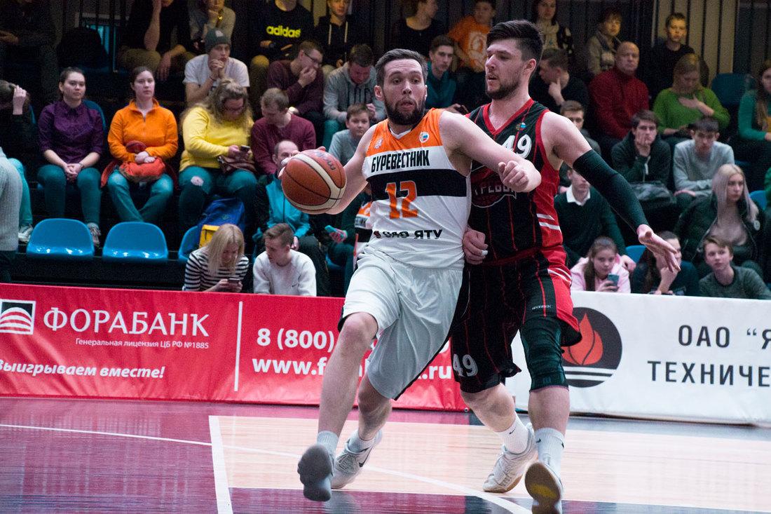 Баскетбольный клуб «Буревестник» одержал 14-ю победу подряд