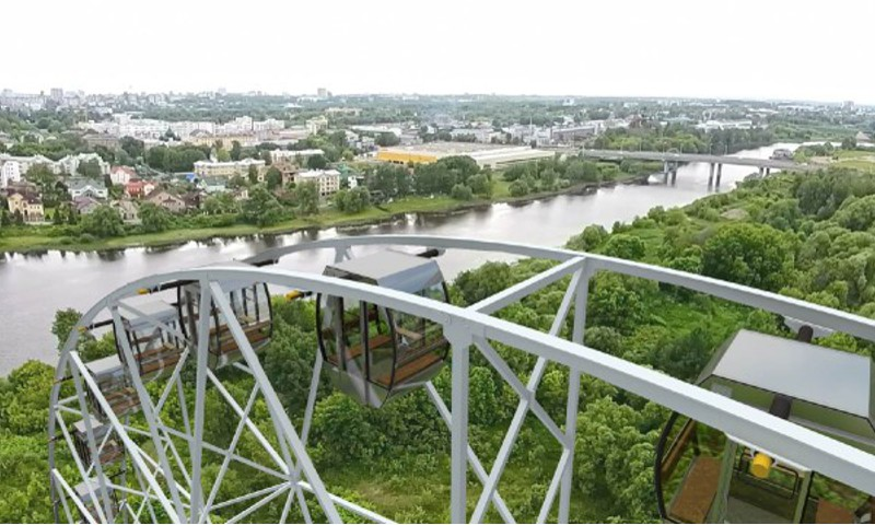 В Ярославле могут запретить строительство рекордного колеса обозрения