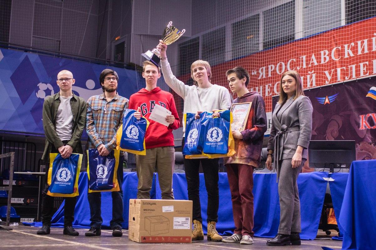Стали известны обладатели Кубка губернатора Ярославской области по киберспорту