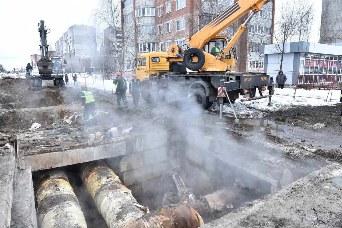 Теплоснабжение домов в Заволжском районе Ярославля восстановлено