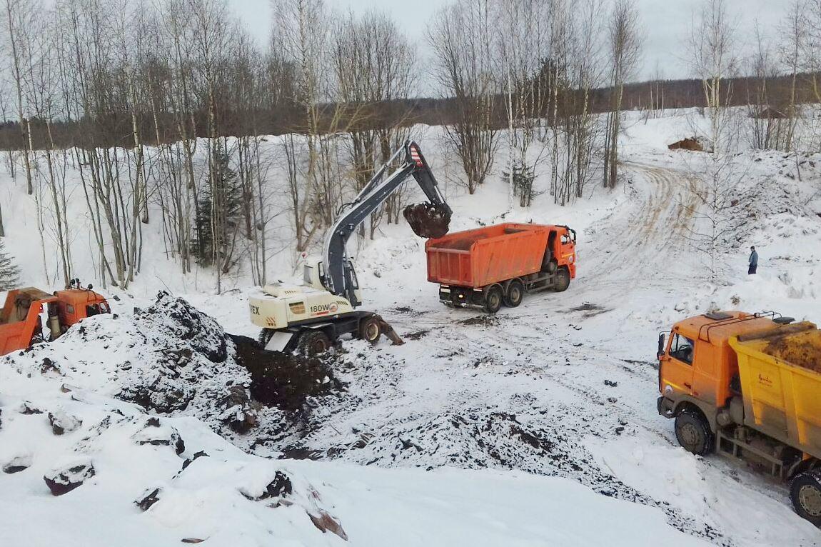 Со свалки у деревни Шолохово на полигон «Скоково» уже вывезено 400 тонн отходов