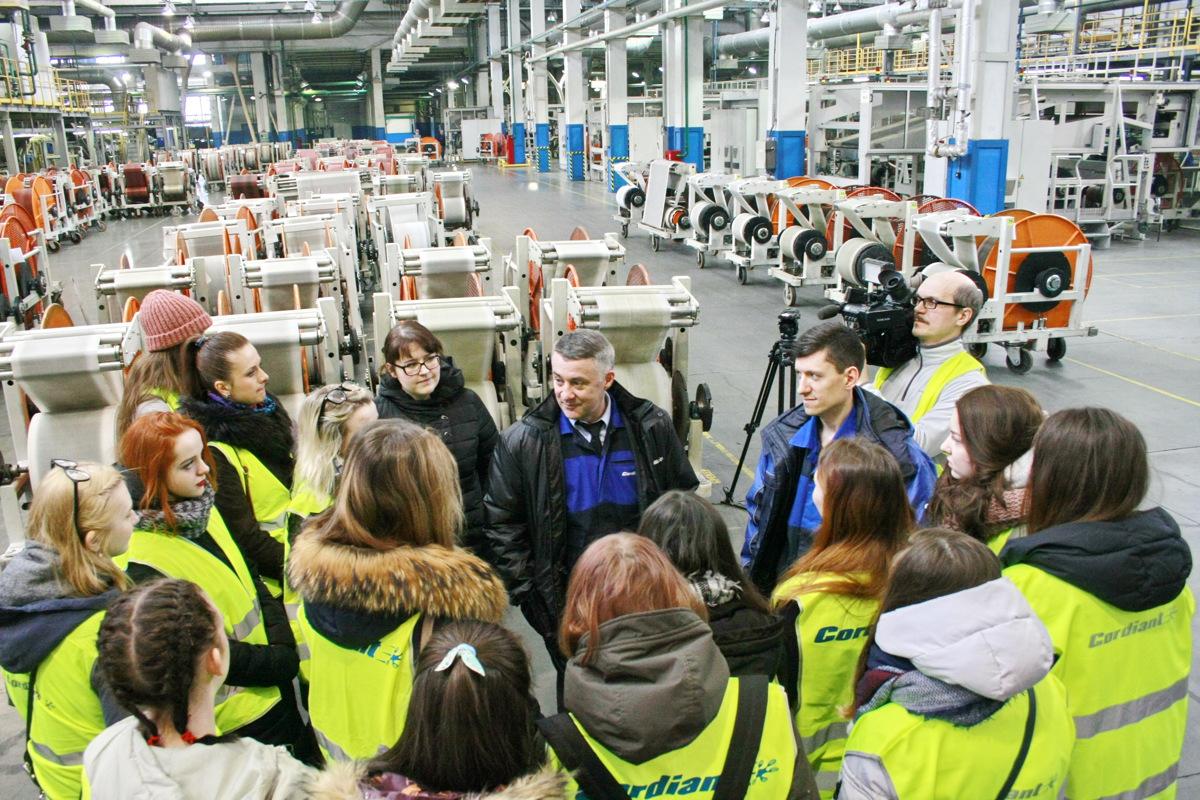 Студенты технического университета посетили высокотехнологичное производство Ярославского шинного завода