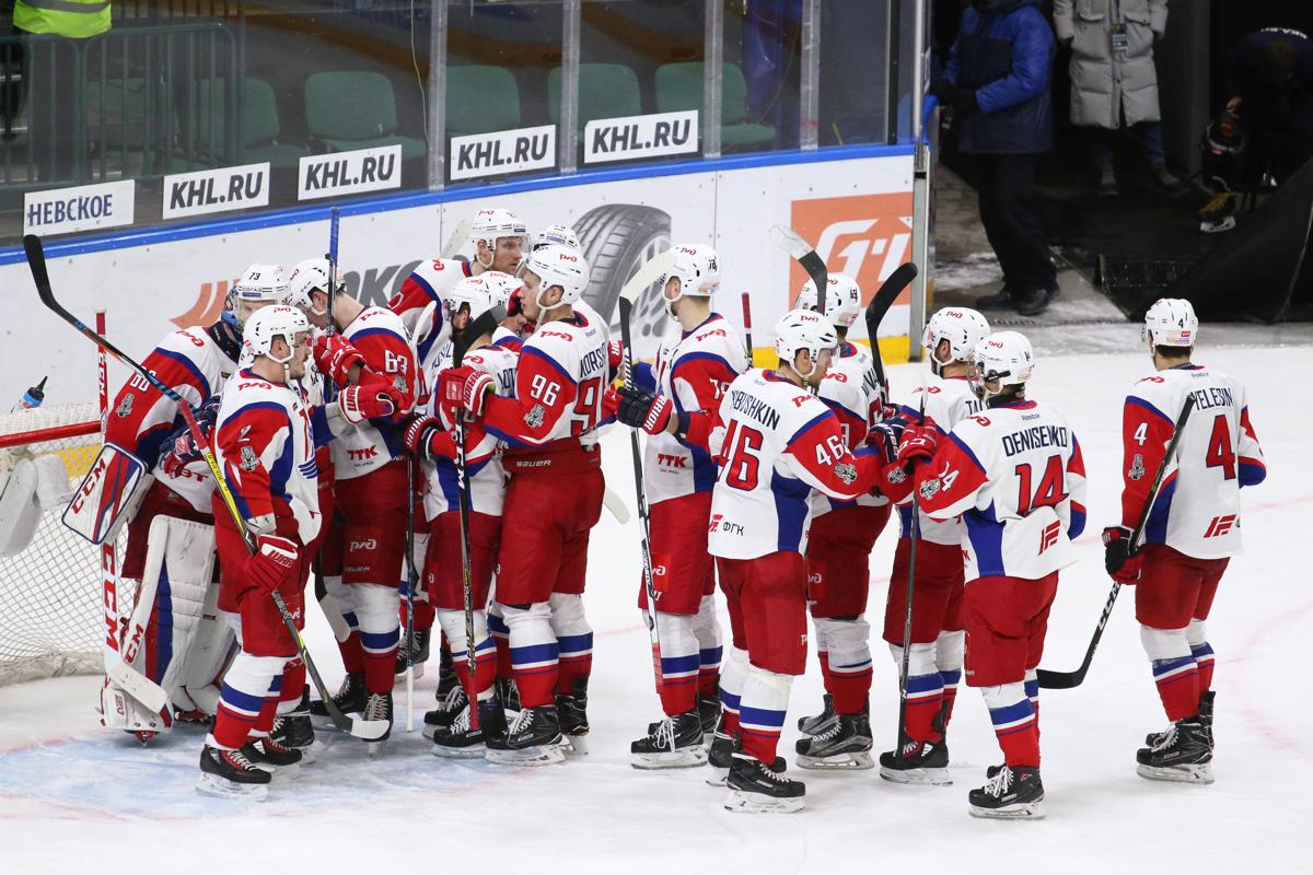 «Локомотив» в четвертый раз проиграл СКА и завершил сезон