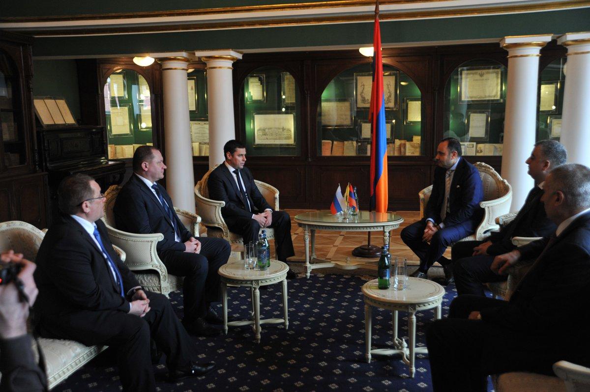В посольстве Республики Армении в Российской Федерации прошла презентация Ярославской области