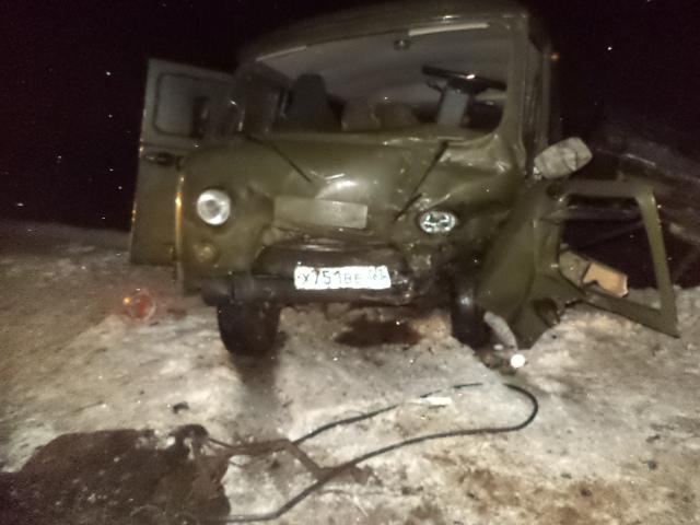 В Ярославской области «буханку» разорвало пополам после столкновения с «Маздой»: погиб водитель