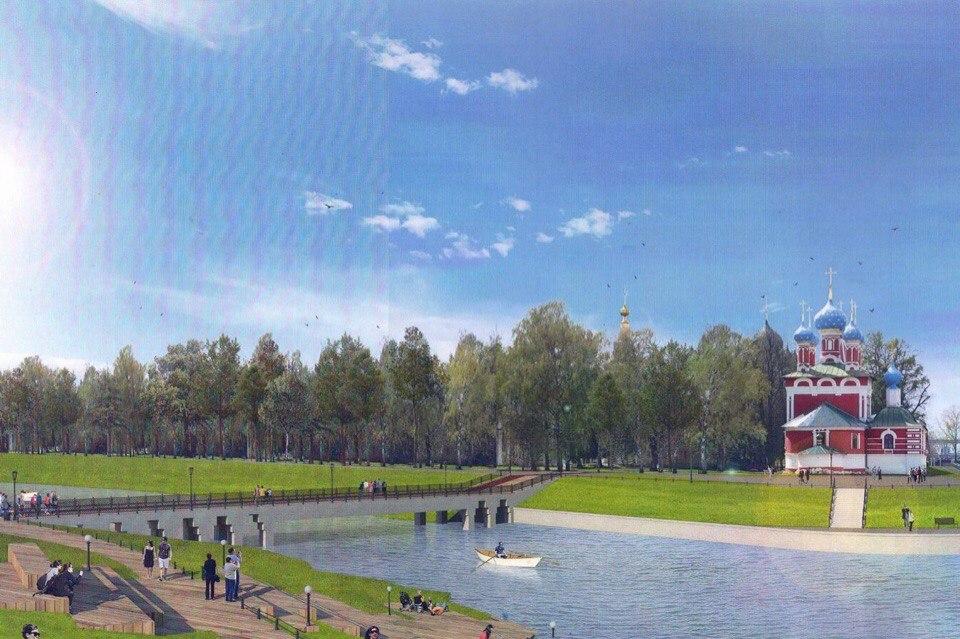 В рамках губернаторского проекта «Решаем вместе!» благоустроят парки в Тутаеве и Угличе