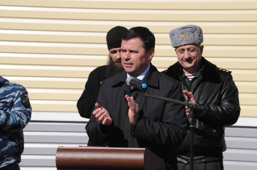 Дмитрий Миронов вручил награды сотрудникам Росгвардии