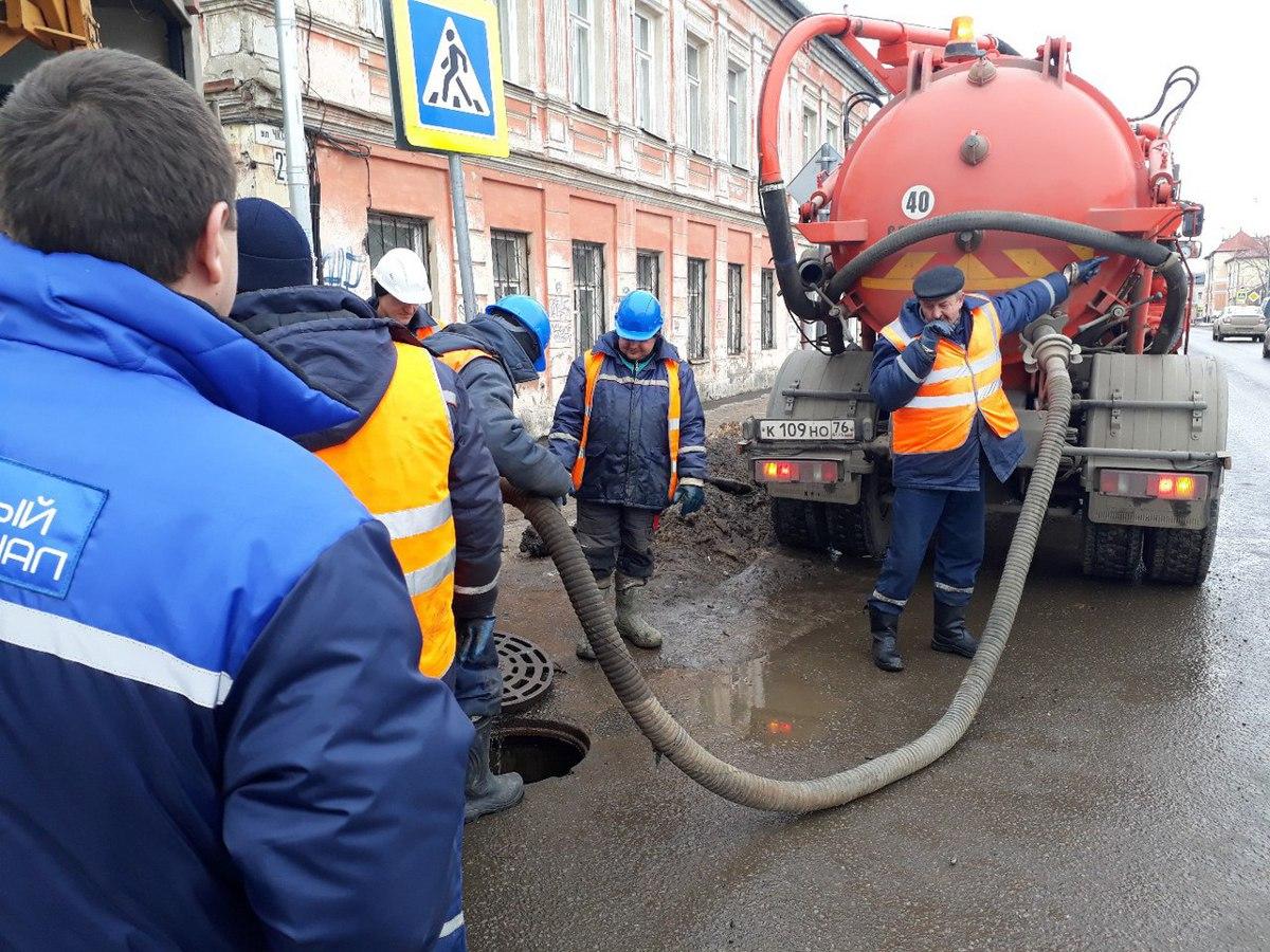 Северный водоканал заявил о готовности к работе в период паводка