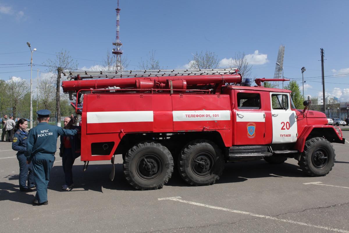 Для районов Ярославской области закупят пожарные машины на 10 миллионов