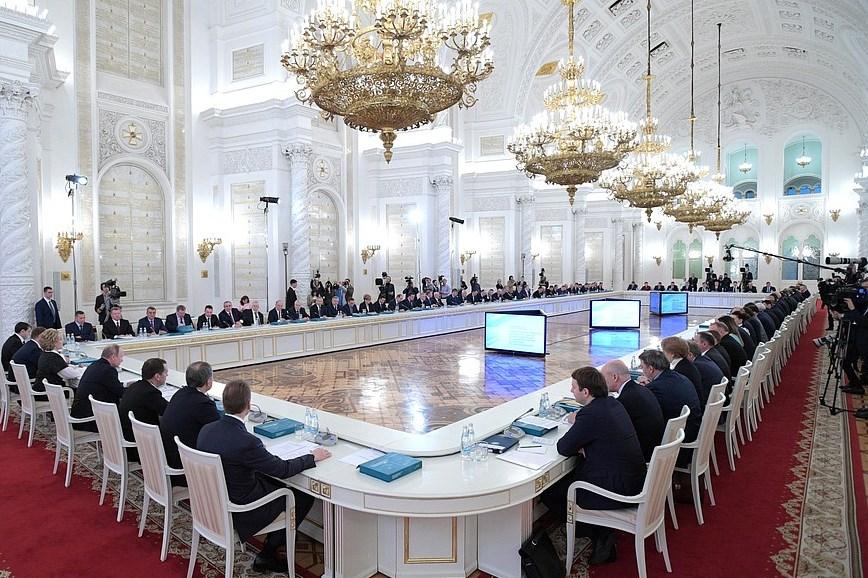 Дмитрий Миронов принял участие в заседании Госсовета, посвященном развитию конкуренции в стране