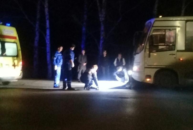 В Ярославле маршрутка насмерть сбила мужчину