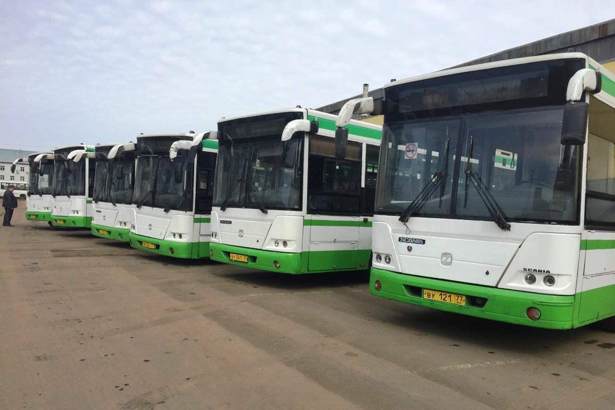 Ярославской области правительство Москвы передало 11 автобусов большой вместимости