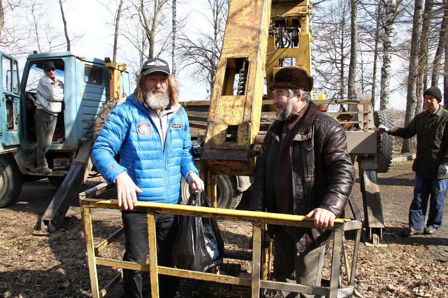 Федор Конюхов поселил белок в парке в центре Рыбинска