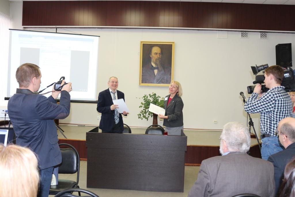 В Ярославской областной библиотеке открылся первый в России виртуальный читальный зал Государственного архива