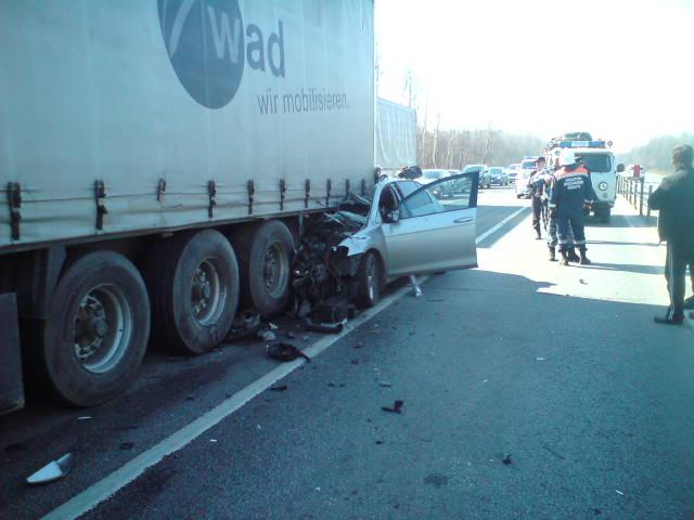 В жутком ДТП с участием фуры в Ярославской области погиб водитель